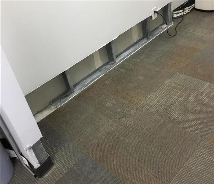 Office water damage clean After