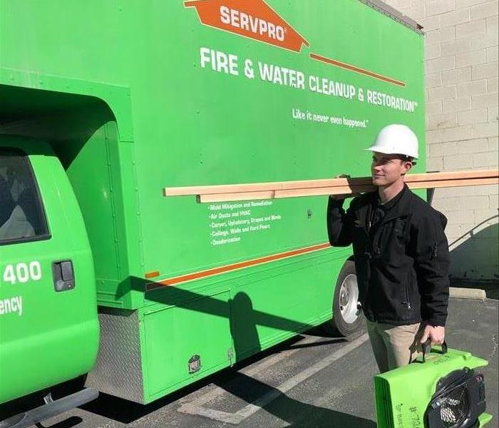 Our team here at SERVPRO of Chatsworth/Stevenson Ranch!